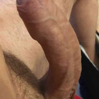 Steifer Schwanz in meiner Hand