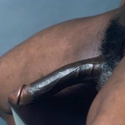 super schwarzer Riesenpimmel