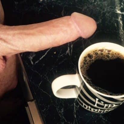 Männerschwänze und Kaffee