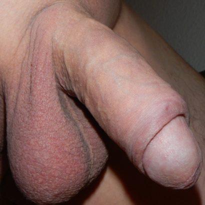 schlaffer Penis von dicht