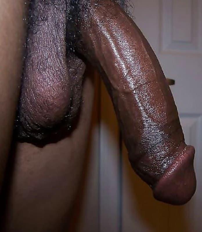 Schwarzer großer penis