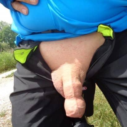 Seltsamer Mini Penis