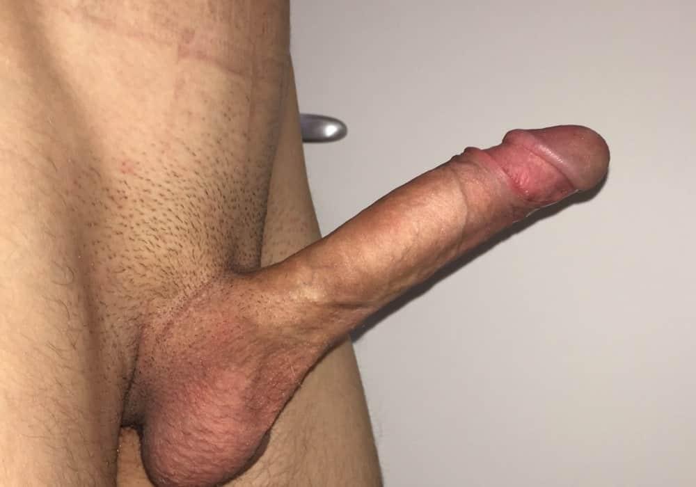 Rasierte Penis