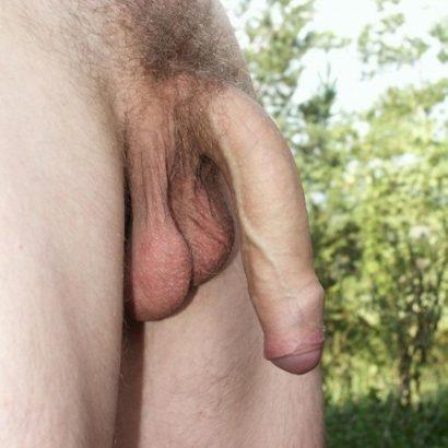 Großer Penis schlaff