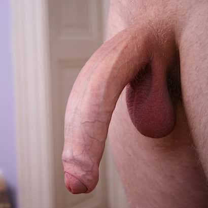 Weißer halbsteifer Großer Penis