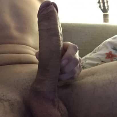 Schöne Schwanze in der Hand
